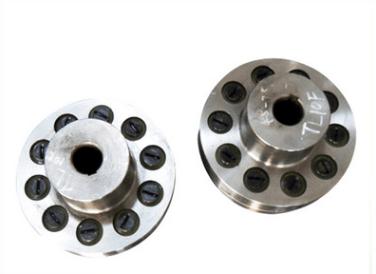 TLL型弹性套柱销联轴器 小型LT铝合金弹性联轴器